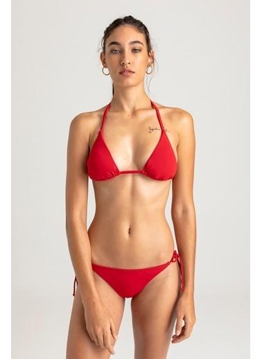 Vulevu Üçgen Bikini Alt Kırmızı